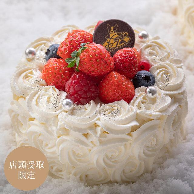 【店頭受取】クリスマスケーキ ノエルホワイト(小)