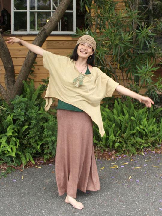 asana ロングスカート