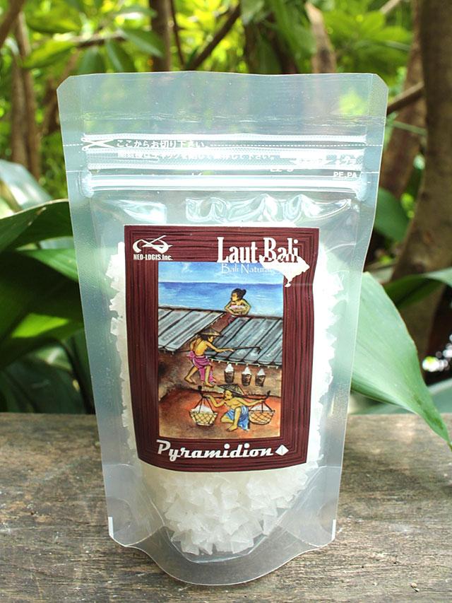 完全天日干し海塩 Laut Bali ピラミディオン