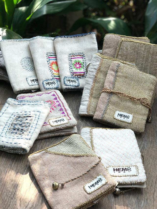 HempThai HEMP100% 手縫い財布