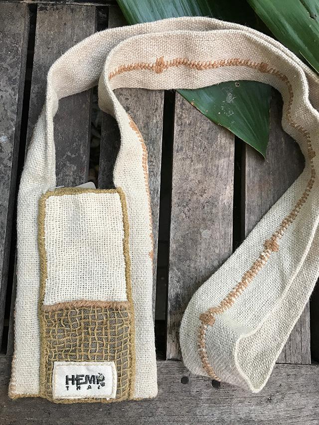 hempThai 手縫いポーチ