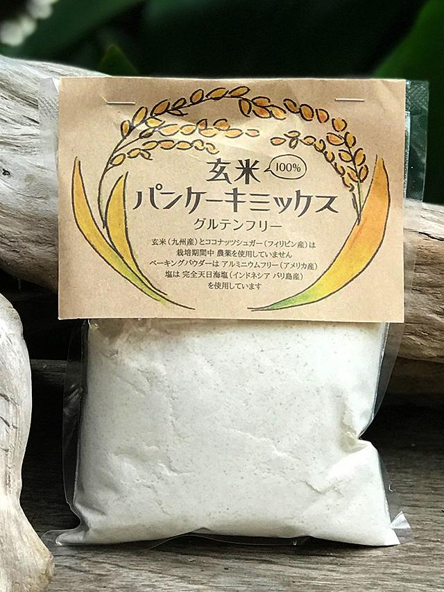manma naturals 玄米パンケーキミックス