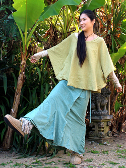 asana ラップスカート (5色)