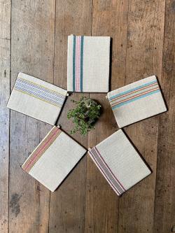 asana HEMP100% 手織り タブレット ケース