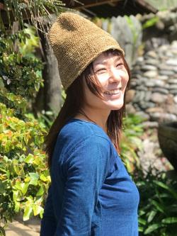 hempThai HEMP100% 手編み帽子