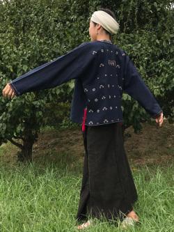 ヤオ族 HEMP100% ショートジャケット