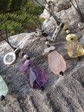 天然石&カレンシルバー ストラップ