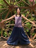 asana HEMP100% パンツスカート