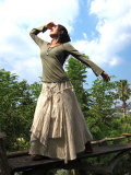 asana 森の妖精スカート