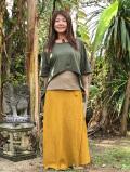 HEMP100% バイアス スカート