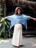 asana HEMP100% バイアススカート