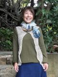 asana HEMP100% 手編みベスト