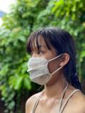 asana ヘンプコットン やわらか 薄手 布マスク・きなり