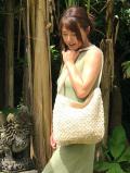 asana HEMP100% 手編み ショルダーバッグ