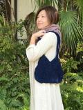 asana HEMP100% 手編み バッグ・草木染め