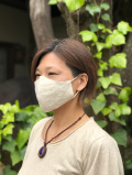 asana HEMP100% 布マスク・きなり