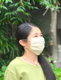 asana ヘンプコットン 端切れ 立体 布マスク・きなり