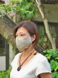 asana HEMP100% 立体 布マスク・きなり