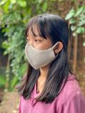 asana ヘンプコットン くしゅくしゅ 布マスク・きなり
