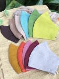 asana HEMP100% カラー 布マスク