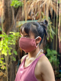 asana ヘンプコットン 調整 立体 布マスク