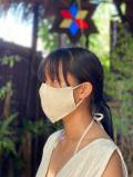 asana HEMP100% 手織り やわらか 布マスク・きなり