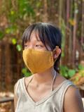 asana ヘンプコットン タイ僧侶カラー 布マスク