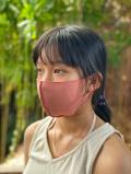 asana リネンコットン 薄手 のびのび 布マスク