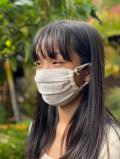 asana ヘンプシルク シングル 布マスク・きなり