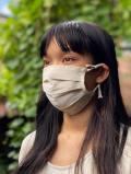asana HEMP100% NEW シングル 布マスク・きなり