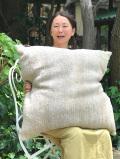 HEMP100% ニット 手編み クッション