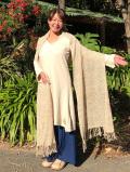 hempThai HEMP100% 手織りショール