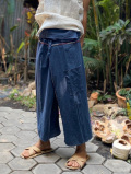 HEMP100% 手縫い パンツ