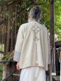 HEMP100% ヤオ族 手刺繍&刺し子 ジャケット