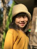 KIDS HEMP100% 手編み ハット