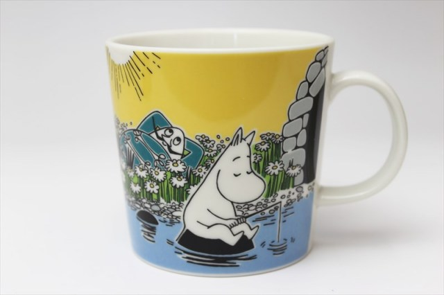 ARABIA(アラビア) ムーミン Moomin Summer2015 Moment on the Shore マグカップ