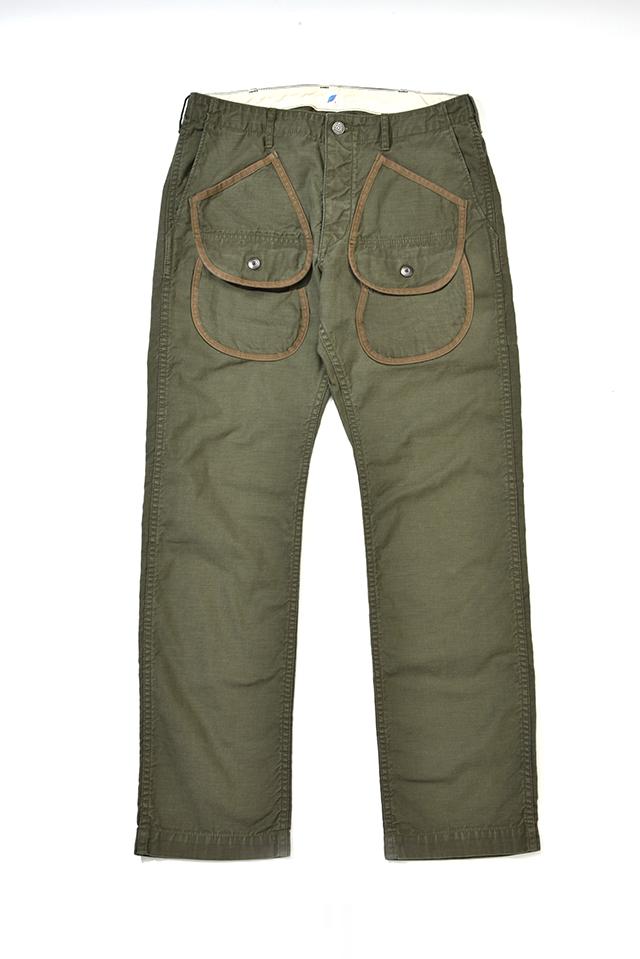 [1163 C/#2] Hunting Pants (Olive)