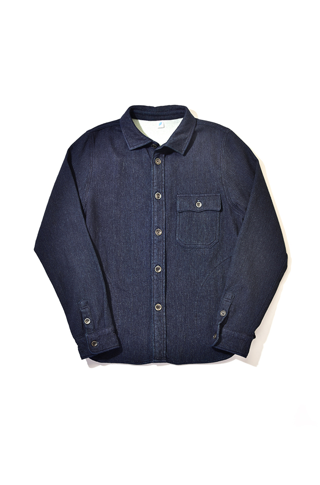 [2214-1] CPO Shirt (Raised Back Denim)