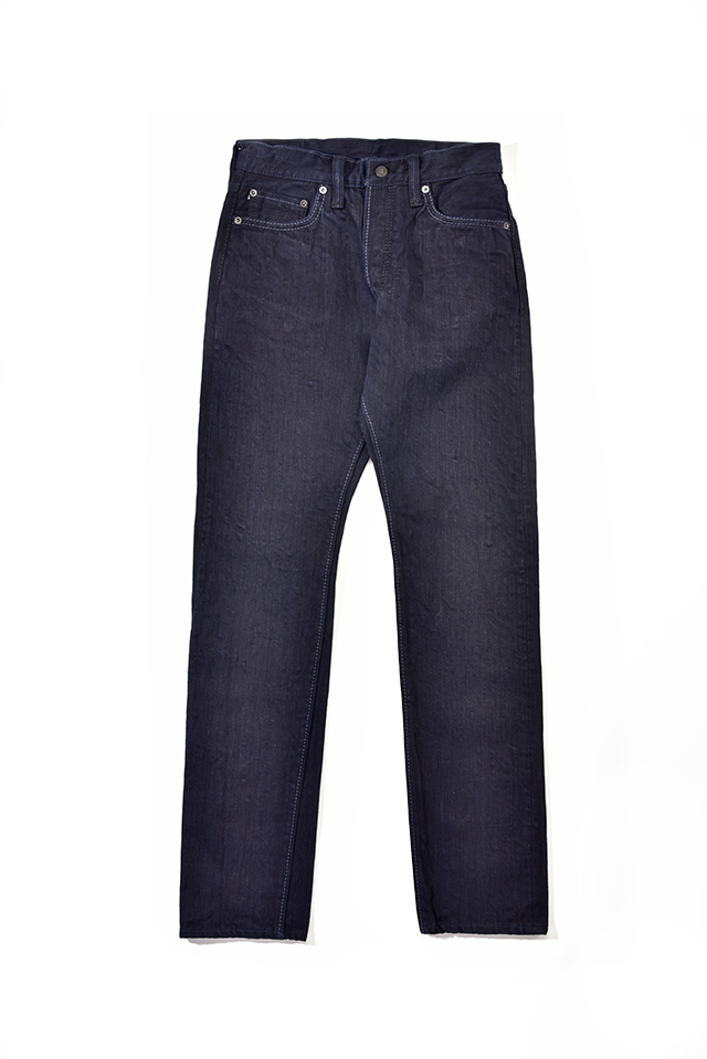 [AI-019-WID] 17.5oz. Double Natural Indigo Relaxed Tapered