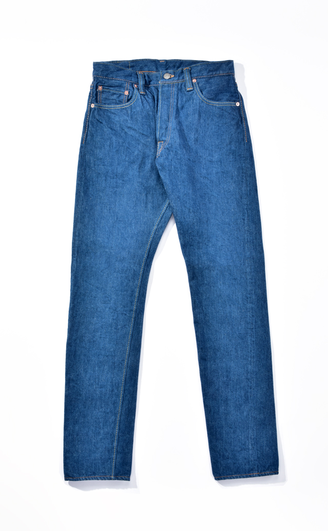 [GRE-019] 14oz Greencast Denim Relaxed Tapered