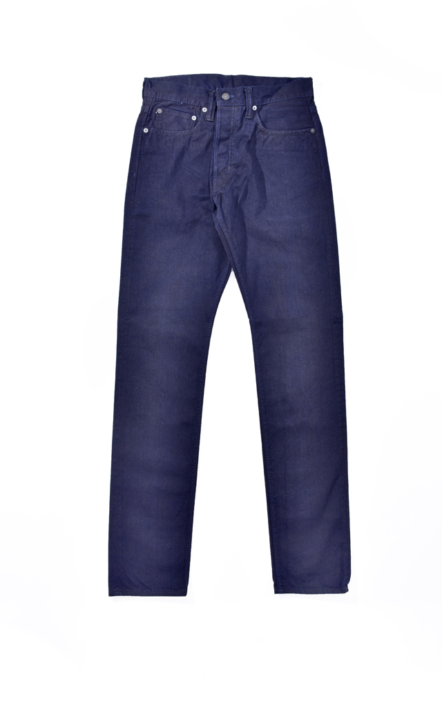 [1150-ID] 12oz. Selvedge Chino 5-Pockets Relaxed Tapered (Indigo)