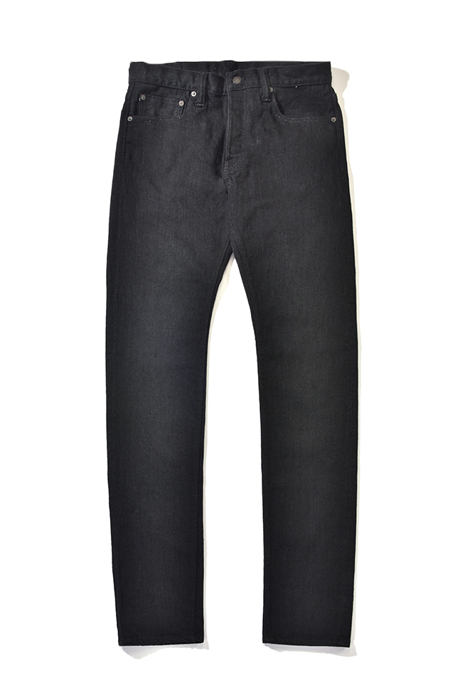 [1161-BB] 12oz. Double Black Stretch Jeans