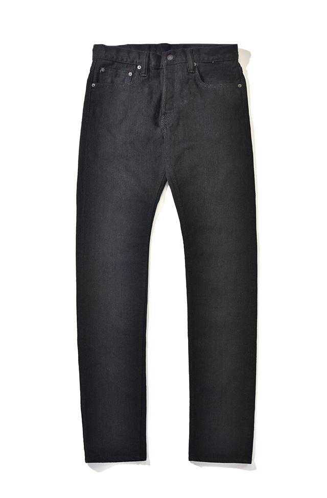 [1161-BB] 12oz. Double Black Stretch Jeans