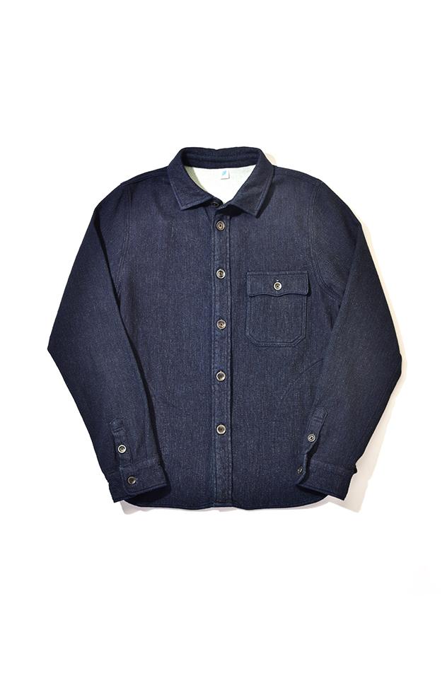 [2214-1] CPO Shirt (Raised Back Denim)