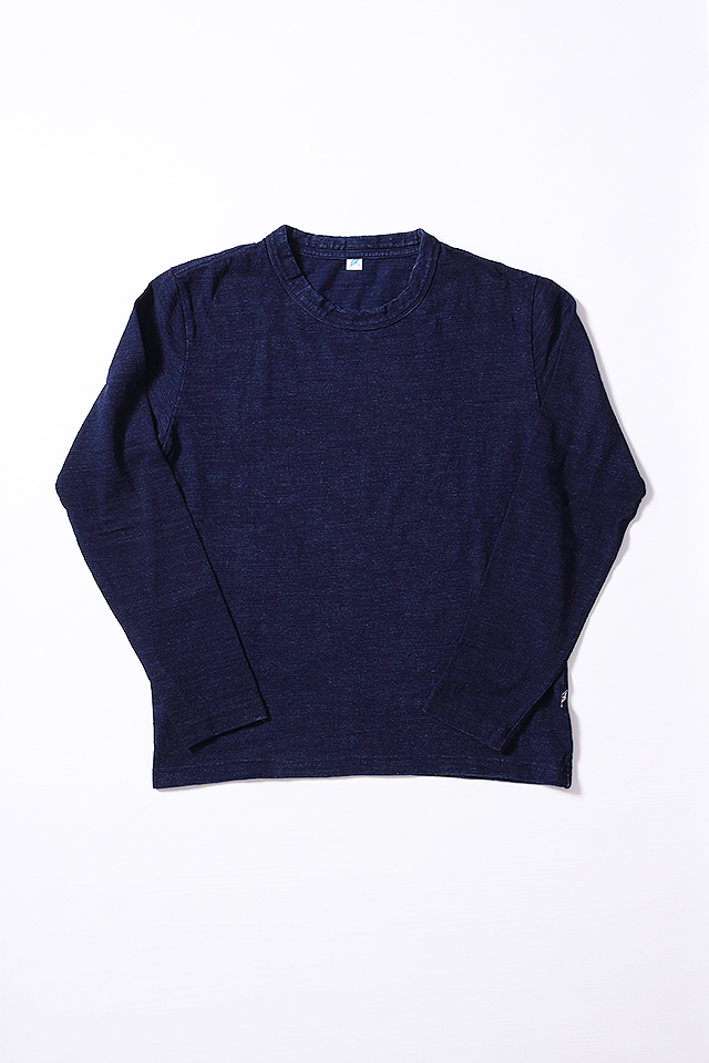 [5383] Slub Jersey Long Sleeve T-shirt