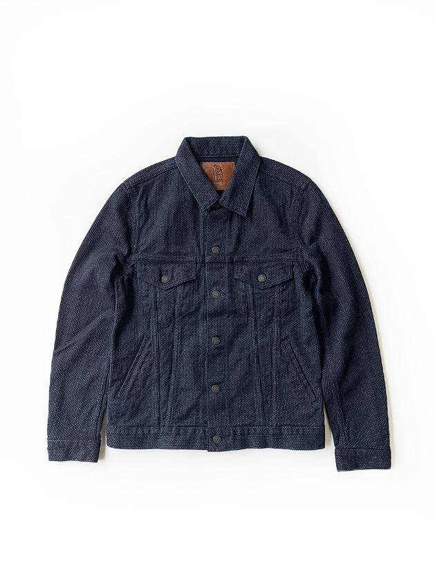 [6097] Selvedge Sashiko Denim Type 3 Jacket