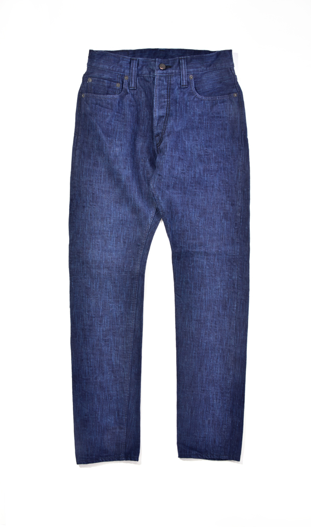 [DLAI-019] 17.5oz Dark X Light Natural Indigo Relaxed Tapered