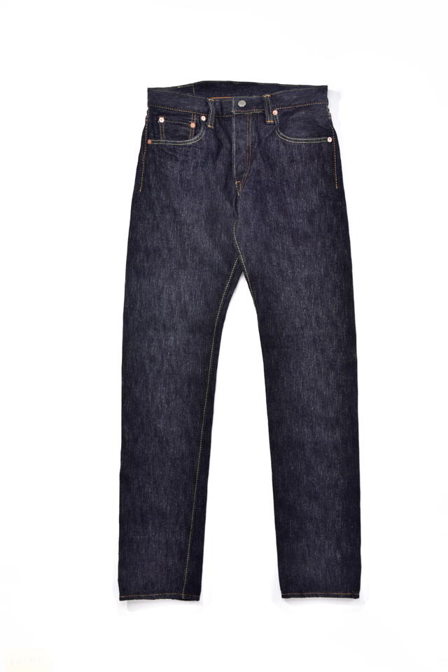 [EX-013] 17oz Extra Slub Denim Slim Tapered