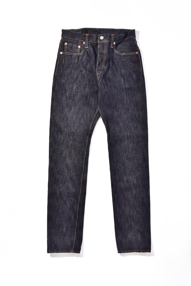 [EX-019] 17oz Extra Slub Denim Relaxed Tapered