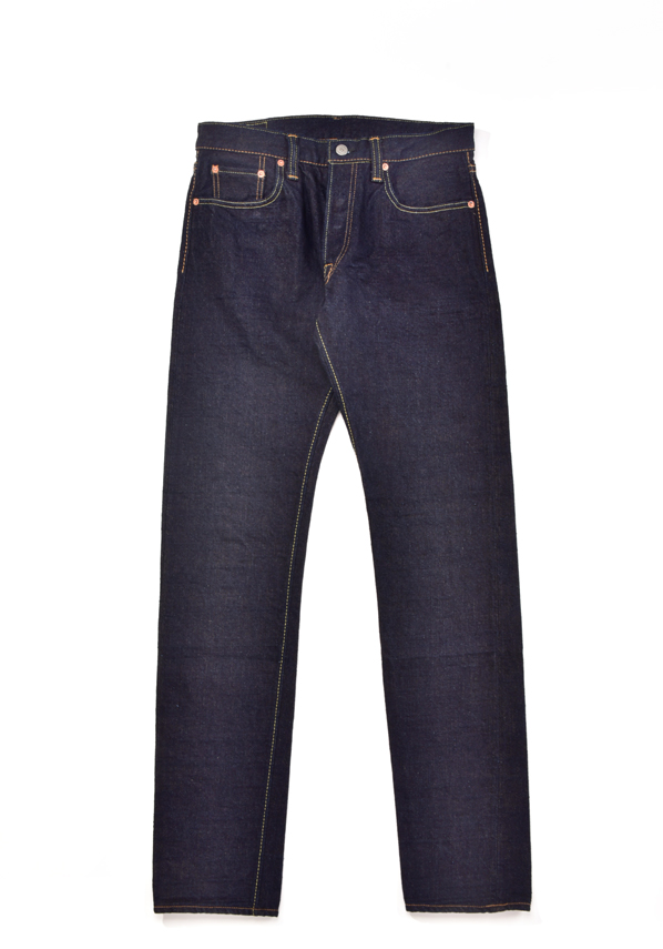 [OG-013] 14oz Organic cotton x Recycled cotton Denim Slim Tapered